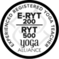 E-RYT Experienced registered yoga teacher 200 und 500