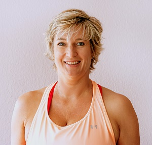 Silke Wagner, 1fach Yoga, zertifizierte Yoga-Lehrerin aus Groß-Gerau.