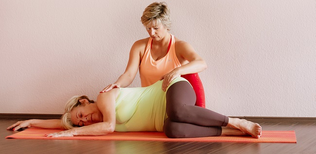 Silke Wagner therapeutisches Yoga individuell